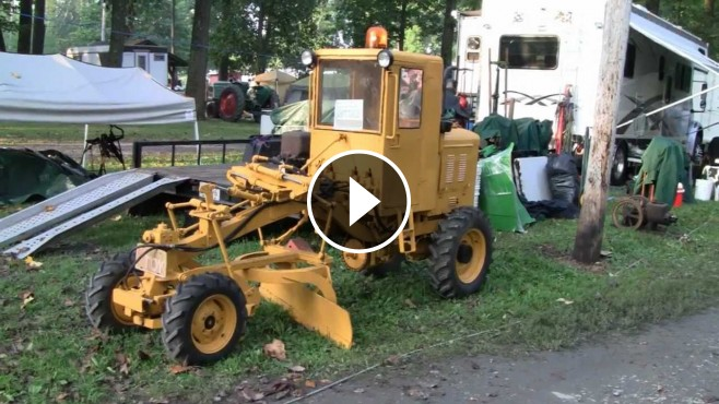 Extremely Rare One Of A Kind 1960 Galion Mini Road Grader