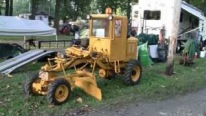 Extremely Rare One of a Kind 1960 Galion Mini Road Grader Works Perfectly