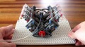 V6 Engine Made up of LEGO Parts Runs Perfectly at 800rpm-Must See!!!