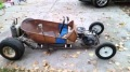 Badass Rat Rod Go Kart Made Up Of Nothing But Scrap Pieces