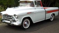 Uniquely Beautiful 1957 Model V8 Powered Chevrolet Cameo Sports Pickup Truck