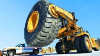 Rema Tip Top's Ultimate Service For Repairing $30,000 Giant Earthmover Tire