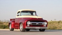 Stunning 1956 Ford F-100 Will Amaze You Even at the First Glance