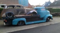 Gorgeous 1951 Model Ford COE Car Hauler Needs Some Professional Treat to Catch All Eyes On
