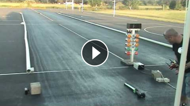 The Fastest and Probably the Coolest R/C Drag Car in Australia Runs 1.178 @ 176