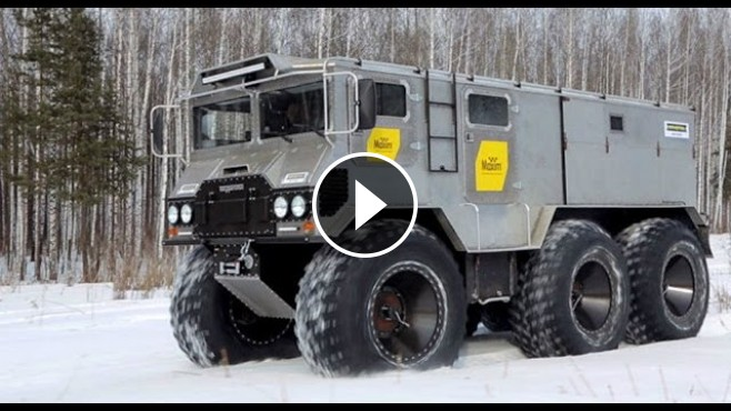 Russia Made All Terrain Amphibious Vehicle Quot Burlak Quot Is