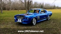 "1967 Ford Mustang Fastback Nicknamed ""Blue Boss"" Looks and Sounds Mesmerizing!"
