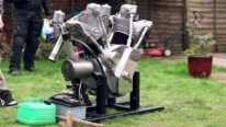 The Flying Millyard: One of A Kind V-Twin Engine Looks Sounds and Runs Perfectly