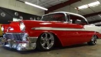 Sweet American Classic: 1956 Model Chevrolet BelAir Looks and Sounds Magnificent!