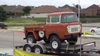 Truck or Jeep: 1959 Willys Jeep FC-150 Four-Wheel Drive Truck Is the Fruit of 3000 Hours of Restoration!