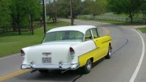 Perfectly Restored and Mildly Customized American Legend: 1955 Chevrolet BelAir Sedan