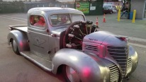 Aviation-Themed 1939 Plymouth Pickup Powered by a Monstrous Radial Aircraft Engine!