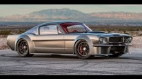 1000+HP Twin Turbo Supercharged Aluminator Engine Powerd Truly Impressive 1965 Ford Mustang Fastback by Timeless Kustoms
