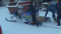 Absolute Badass V8 Powered Roaring Sleigh: Christmast Fun by Hilarious Lindberg Brothers