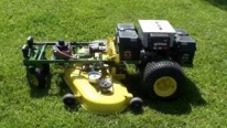 Inspiration Is the Mother of This Effectively Designed Remotely-Controlled Lawn Mower