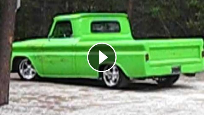 Eye Pleasing 1965 Model Chevrolet Pickup Truck Is Clean
