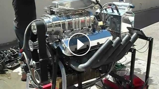 1500 Hp Big Block Chevy Blown Alcohol Engine Makes The