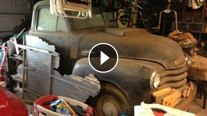 Unearthing Hidden Treasure: 1953 Chevrolet Truck Found in ...