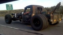 The Baddest Rat Rod Gang Ever Cruise Down the Road In Pure Charisma