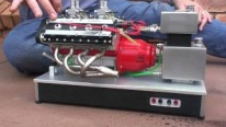 Strikingly Impressive V8 Nitro Engine by Luther Model Engines Runs Super Functionally