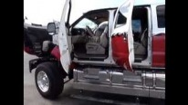 Super Charismatic 2005 4X4 Ford F-650 Super Truck Is Filmed in Detail