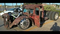 5.9 Liter Screaming Cummins Powered 1938 Muck Truck Is Modified Professionally and Trans formed Into a Badass Rat Rod