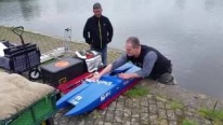 Guys Having Incredible Fun Playing with Extremely Cool Race Boats That Make 235,2 Km Per Hour