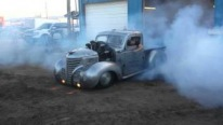 Stunning Plymouth Truck Powered by Radial Aircraft Engine