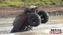 Cummins Powered Truck Doing Mind-Blowing Wheelies in the Water!