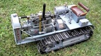4 Cylinder Engine Powered Ultra-Realistic Hand-Built Caterpillar Model Works Perfectly