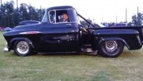 Insanely Charismatic 1957 Pro Mod Street Pickup with a Sick Exhaust That Literally Roars