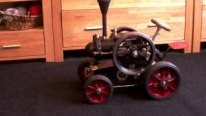 FlameThrower 1/3 Scale Lanz Bulldog Tractor Looks Strikingly Cool