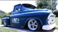 Perfectly Customized 1957 Chevrolet Pickup by Hudsons Rod & Customs