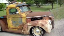 A Dirty-Rusty 1939 Ford Pickup Rat Rod That You're All Gonna Love