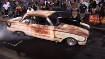 Big Block powered Rusty Ford FALCON Sounds Literally Awesome!