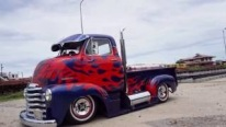 1950 Chevrolet COE Truck by Burotang Looks Mesmerizing with Its Professionally Done Paintjob