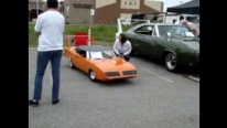 Extremely Realistic 1970 Plymouth Superbird Gocart Caught on Camera in Minnesota
