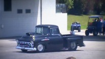 Majestic 1957 Chevy Pro Street Race Truck with 632ci 1300Hp Chevy Motor