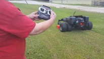 Dual Wheel Drive ZTR-60 R/C Lawnmower Works Like a Beast-Must See!!!