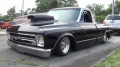 Exclusive 1968 Chevrolet C10 Pro Street Truck Cruises on the Road Just Like a Boss