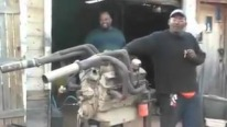 Hot Rodder Guy and His Way To Start Up an Engine Are Gonna Make Your Day!!!