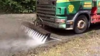 101% Satisfaction: Road Jetter High Pressure Cleaning Truck Can Destroy Thick Moss Just in Seconds