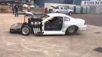 Australia's Incredibly Sick Top Fuel Mustang Has Motor Making 6,000Hp