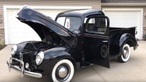 Ford Enthusiasts Will Love It: Truly Charismatic 1940 Ford Flathead Pickup Truck