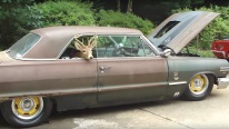 Nicely Treated 1963 Chevy Impala 454 That Sat in the Woods for More Than 30 Years Now Looks Magnificent