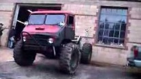 An Extraordinary Way of Getting Fun with Unimog and a Wall-Must See!!!