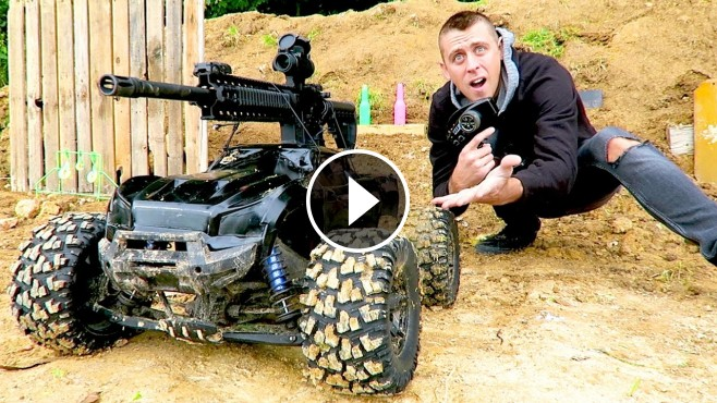 Who Owns Scion >> Roman Atwood and His Cute Little Son Build the Craziest R/C Truck Ever-Must See!!!