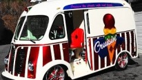 Excellently Built 1950 International Metro Van Custom Ice Cream Van Is Gonna Bring Your Sweetest Childhood Memories Back!