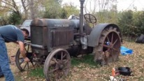 Ancient Tractor 1929 McCormick Deering 10-20's First Run After Sitting for More than a Decade
