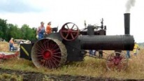 Ancient Power: Advance-Rumely Steam Tractor Still Works Fully Functionally